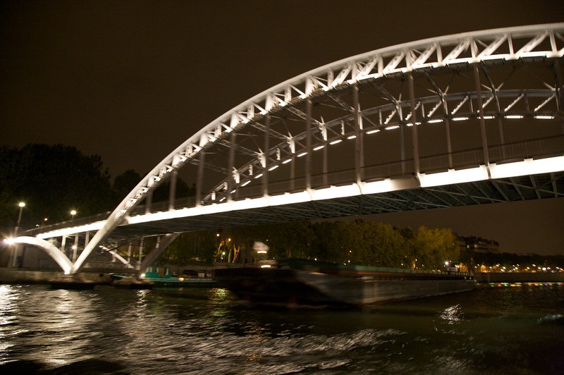 Bridge crossing the Seine River
