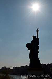 The Statue of Liberty and the Torch