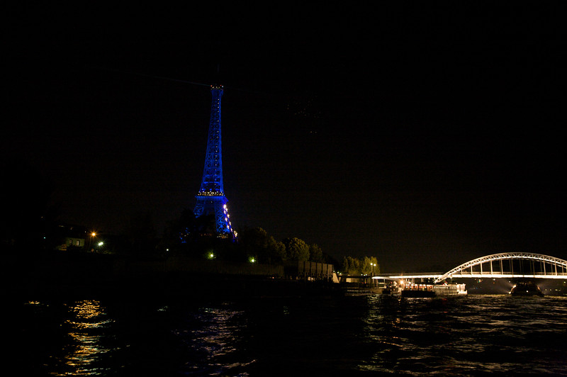Eiffel Tower from Seine River