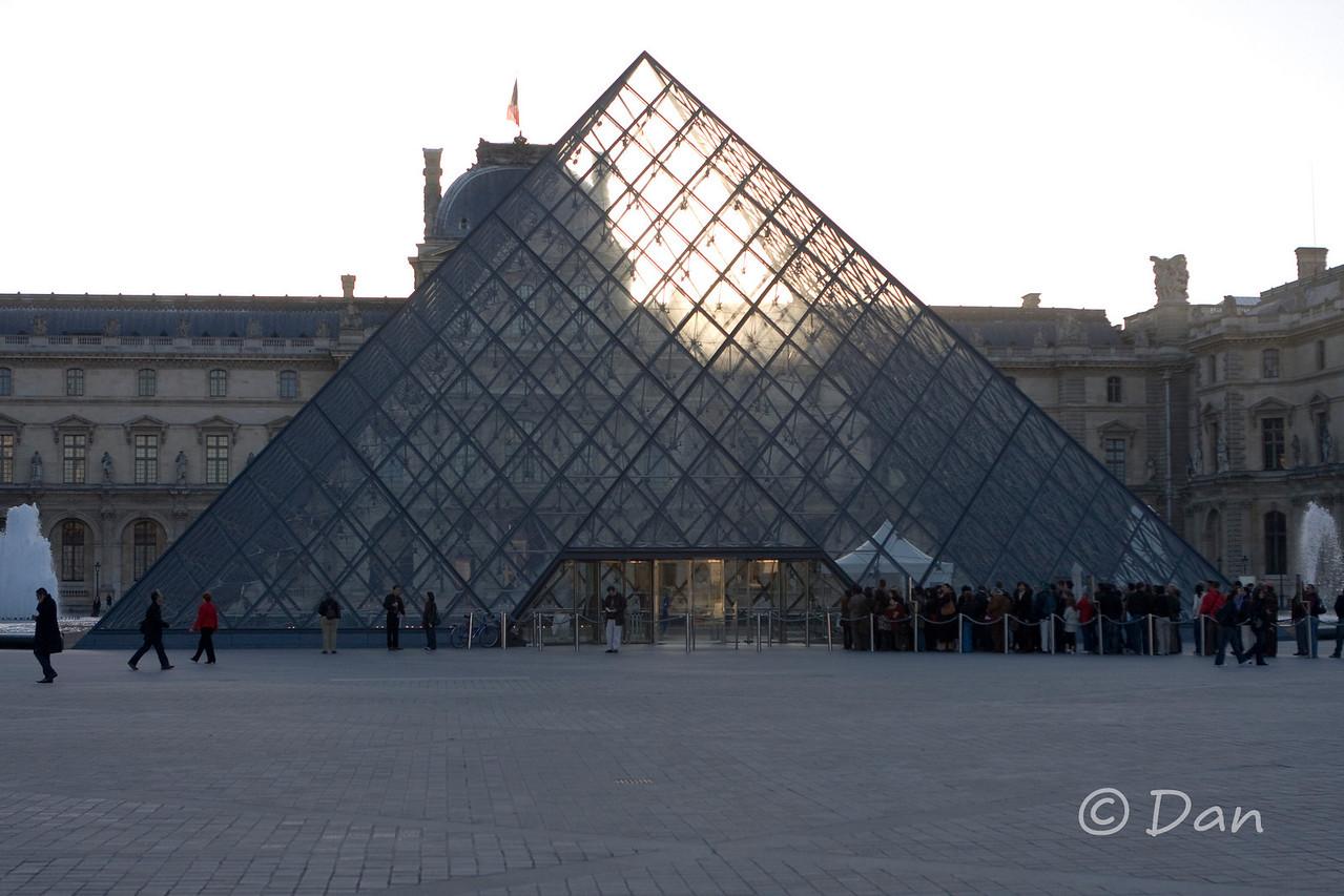 Louvre - main entrance