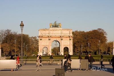 Louvre - arch du carrousel