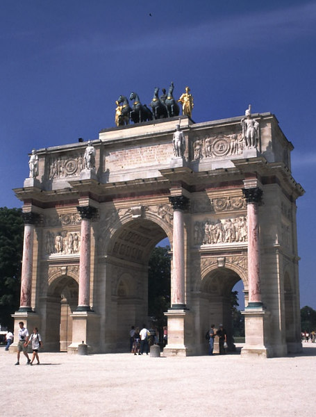 Louvre Arch