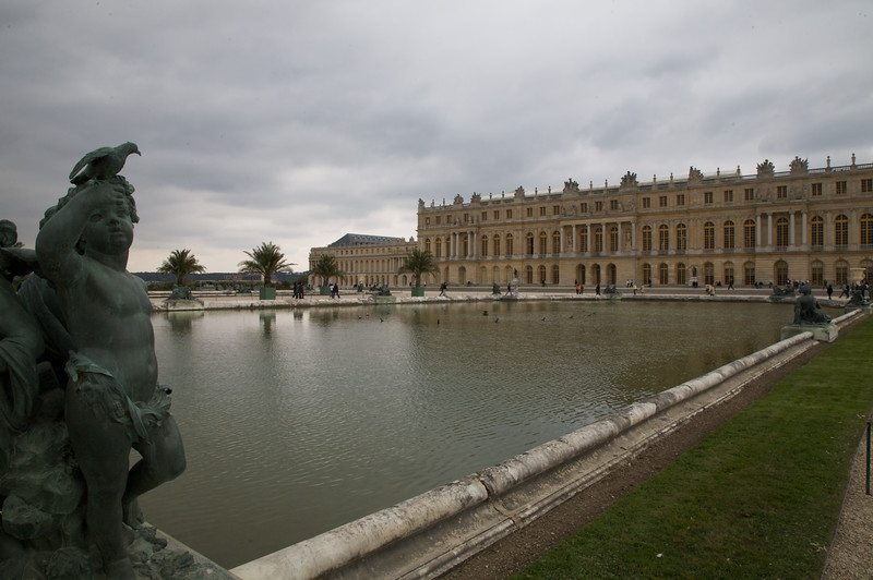 Garden water feature - Chateau de Versailles