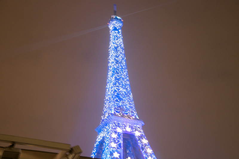 Eiffel Tower - During the spectacular light show