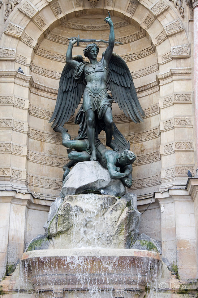 Fountain at St. Michel
