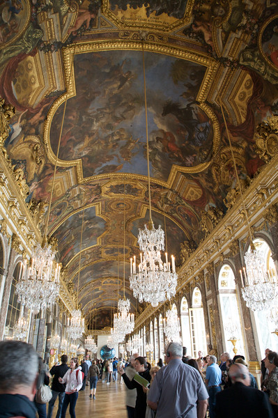Hall of Mirrors - Chateau de Versailles