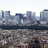 The more modern portion of Paris' skyline.