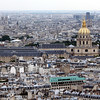 Hotel des Invalides,with the gold dome (houses the Army museums and Napoleon's tomb).
