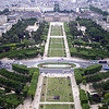 Photo by Marissa of Ecole Militaire, from the Eiffel Tower.
