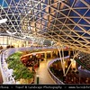 Europe - Poland - Polska - Warsaw - Warszawa - Golden terraces - Zlote tarasy - Shopping Mall designed by The Jerde Partnership - Commercial, office & entertainment complex in city center, located next to the Central Railway Station between Jana Pawła II and Emilii Plater streets -