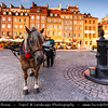 Europe - Poland - Polska - Warsaw - Warszawa - Historic Centre of Warsaw - UNESCO World Heritage Site - Old Town with its churches, palaces & market-place - Stare Miasto - Old Town Market Place - Rynek Starego Miasta