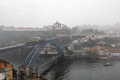 Rain-Shrouded Vila Nova de Gaia