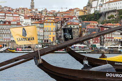 "Traditional ""rabelo"" boats, Porto, Portugal, 2019"