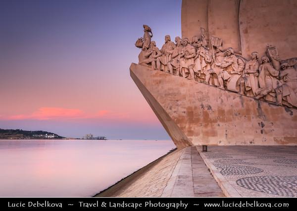 Europe - Portugal - Lisbon - Lisboa - Belem - Padrão dos Descob