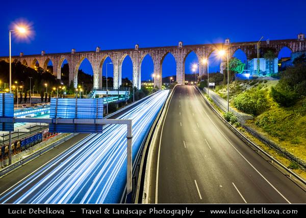 Europe - Portugal - Lisbon - Lisboa - Aqueduto das Aguas Livres - Aguas Livres Aqueduct - One of most remarkable examples of 18th-century Portuguese engineering