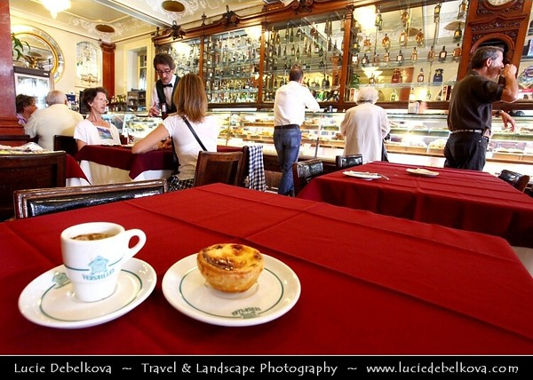 Portugal - Lisbon - Interior of Pastelaria Versailles