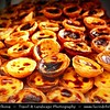 Portugal - Lisbon - Lisboa - Restaurants and Pastry Shops at The Rua Augusta In The Baixa District