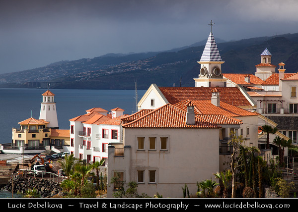 Europe - Portugal - Portuguese archipelago - Madeira Island - East Coast - Caniçal - The most easterly village on the island of Madeira - Traditional small fishing village & once the centre of whaling industry up until 1982