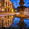 Europe - Portugal - Portuguese archipelago - Madeira Island - South Coast - Funchal - Town Hall - Câmara Municipal - One of iconinc buildings on Praça do Municipio square