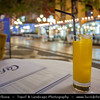 Europe - Portugal - Portuguese archipelago - Madeira Island - South Coast - Funchal - Poncha - Traditional alcoholic drink from Madeira, made with Aguardente de cana - distilled alcohol made from sugar cane juice