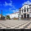 Europe - Portugal - Portuguese archipelago - Madeira Island - South Coast - Funchal - Coastal town on shores of Atlantic Ocean - The Jesuit College - Colégio dos Jesuitas - Igreja do Colegio located on Town Hall Square