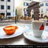 Europe - Portugal - Portuguese archipelago - Madeira Island - South Coast - Funchal - Coffee & Pasteis de Nata - Delicious Portuguese custard tarts