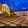 Europe - Portugal - Portuguese archipelago - Madeira Island - South Coast - Funchal - Town Hall - Câmara Municipal - One of iconinc buildings on Praça do Municipio square