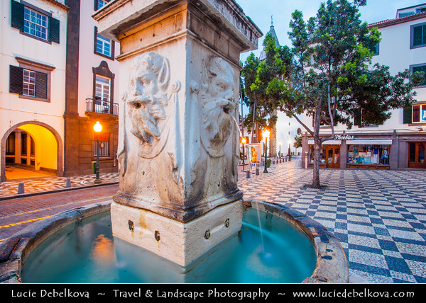 Europe - Portugal - Portuguese archipelago - Madeira Island - South Coast - Funchal - Traditional streets of old town