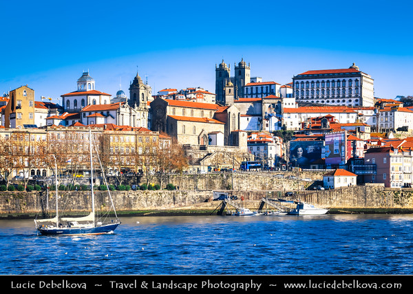 Europe - Portugal - Região Norte - North Region - Porto - Oporto - One of oldest European cities with historical centre proclaimed UNESCO World Heritage Site located along Douro river