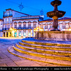 Europe - Portugal - Região Norte - North Region - Viana do Castelo - Historical port situated at mouth of Lima river flowing into Atlantic Ocean