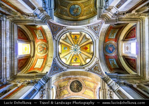 Europe - Portugal - Região Norte - North Region - Braga - Bom Jesus do Monte - Portuguese sanctuary & pilgrimage site with monumental Baroque stairway that climbs 116 meters (381 feet) - Important tourist attraction