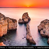 Europe - Portugal - Algarve Region - Lagos Area - Ponta da Piedade - Piety's Point - Rock formations along the Atlantic coastline near town of Lagos