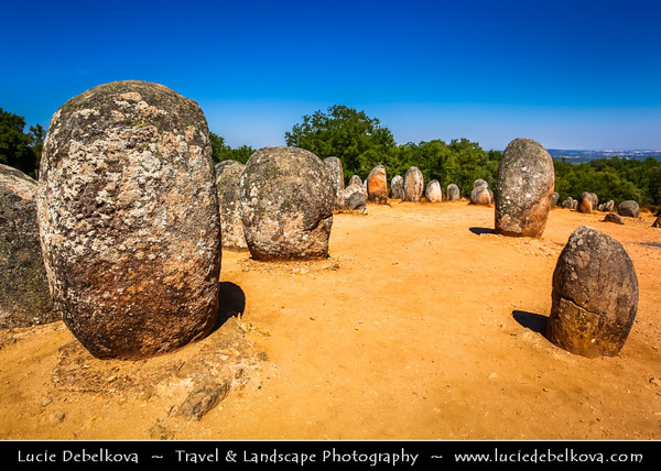 Europe - Portugal - Alentejo - Évora - Cromlech of the Almendre