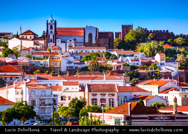 Europe - Portugal - Algarve Region - Silves - Historical town & former capital of the Algarve with Moorish Castle