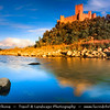 Europe - Portugal - Região Centro - Central Region - Tomar - Almourol castle - Almorolan - Medieval Knights Templar Castle located on a small islet in the middle of the Tagus River