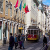 Lisbon trams.<br /> Copyright 2013, Tom Farmer