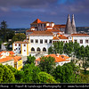 Europe - Portugal - Lisbon - Sintra-Cascais Natural Park - Sintra - UNESCO World Heritage Site - Magical town full of palaces & other fine residences and full of history from prehistoric times