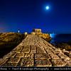 Portugal - Rising Moon over Ppraia de Paço de Arcos - Oeiras