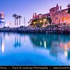 Europe - Portugal - Lisbon Surrounding - Estoril Coast - Cascais - Coastal resort - Santa Marta Lighthouse