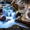 Europe - Portugal - Região Centro - Central Region - Santarém - Nascentes do Alviela - Cascades waterfall