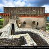 Europe - Portugal - Região Centro - Central Region - Castelo de Ourém - Castle of Ourem - Historical castle built in 13th century on massive outer wall - National monument