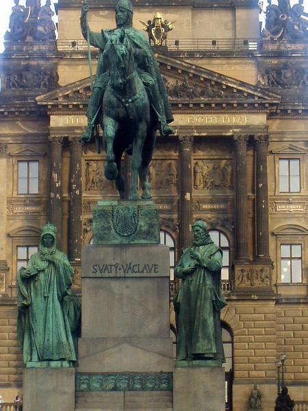 King Wenceslas (Vaclav), patron saint of the Czech people