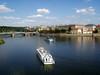 Cruising the Vltava river