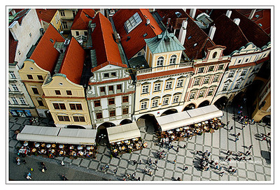 The Old Town Square (Staromestske Namesti) in Prague dates back 600 to 700 years. The ancient buildings  and magnificent churches  makes this one of the most beautiful historical sights in Europe.