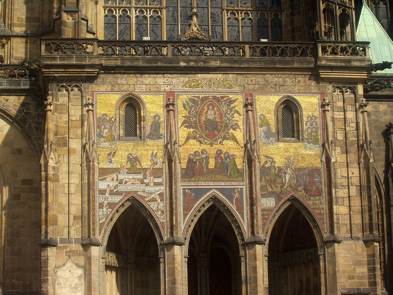 St. Vitus Cathedral; exterior detail