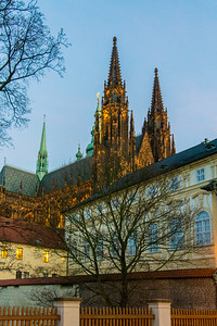 St. Vitus Cathedral and the Prague Castle