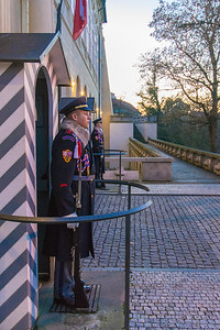 Guards at the Prague Castle