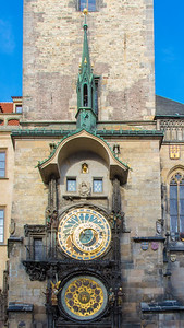 The Prague Astronomical Clock. We waited for the top of the hour for the underwhelming show.