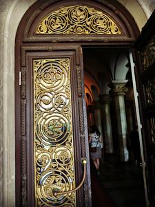 Museum Building Doorway