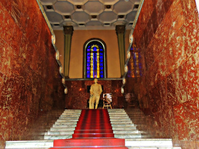 Grand Stairway with Stalin Statue